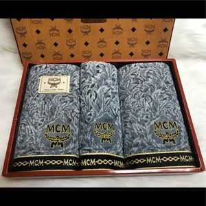 Authentic MCM Towel Set